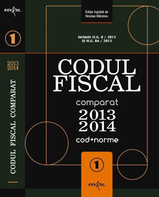 Codul fiscal comparat 2013 – 2014