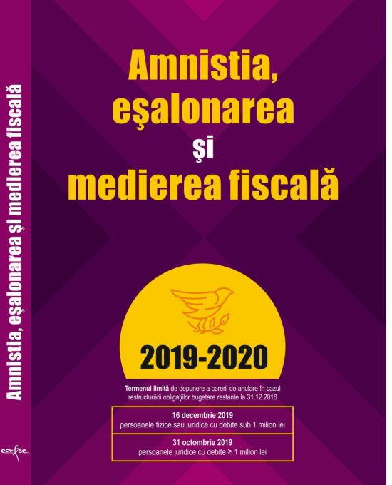 Amnistia, esalonarea si medierea fiscala