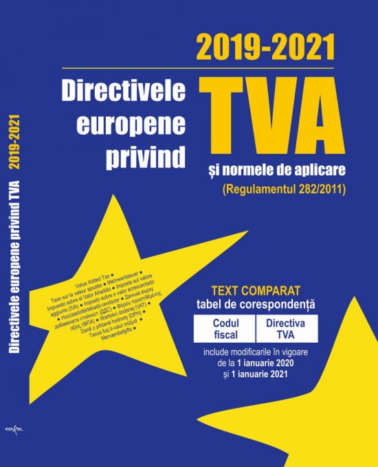 Directivele Europene privind TVA 2019-2021